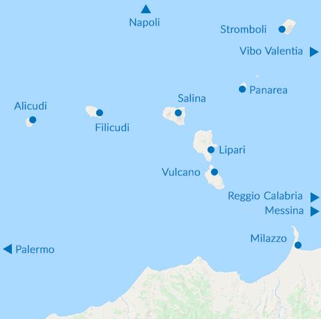 Traghetti Eolie Aliscafi Lipari Milazzo Napoli orari ...